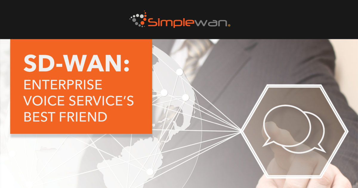 SD-WAN helps enterprise voice functions work the way they should. This infographic explains ho